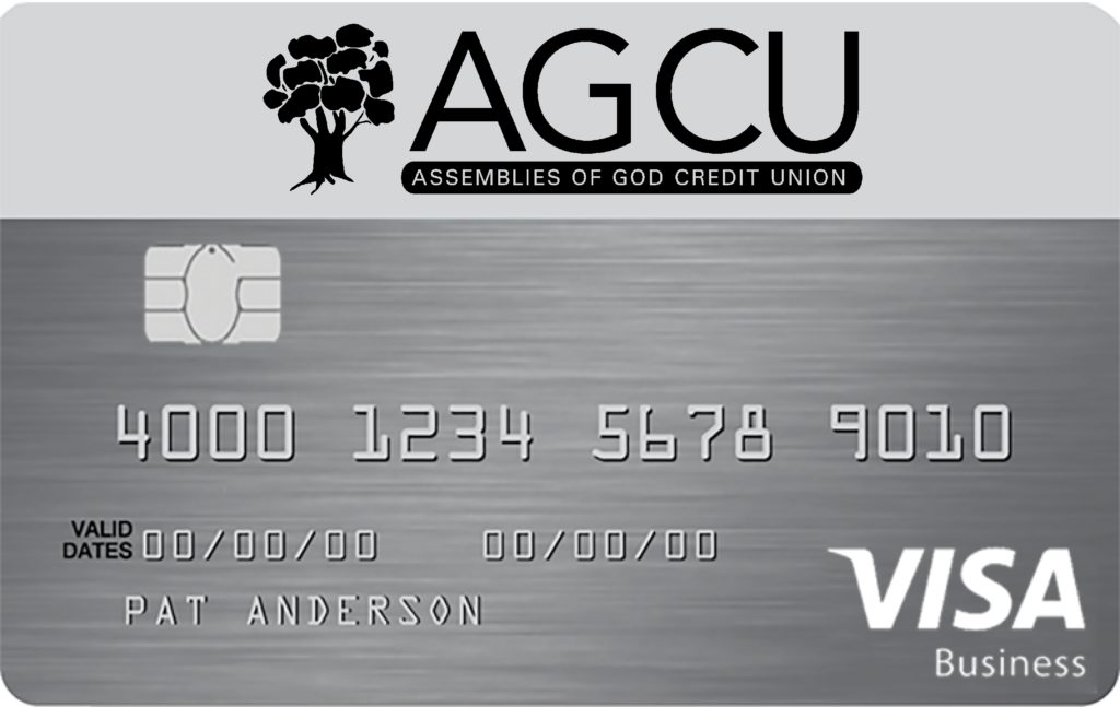 sample AGCU Visa Community card