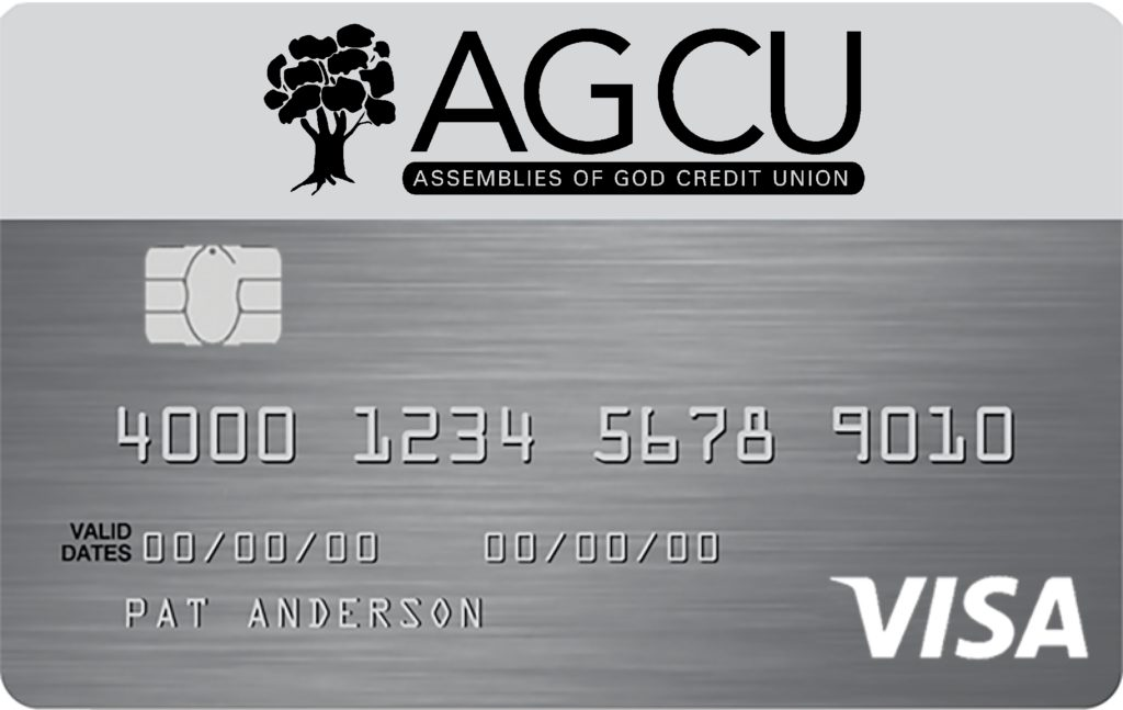 sample AGCU Visa Platinum Card