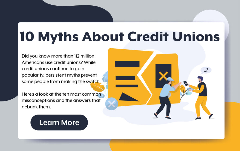 10 Myths About Credit Unions
